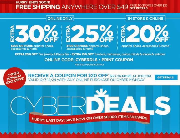 CYBER DEALS - JCPenney