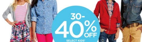 7c0a94ad Purchase Kids wear Online with JCPenney Coupon Code 30% off